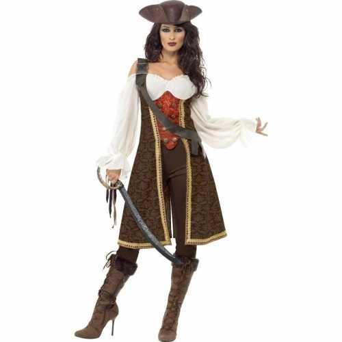 Luxe piraten verkleedkleding dames