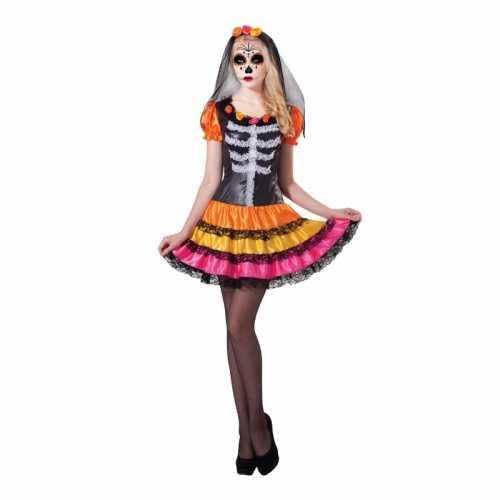 Mexicaans skelet jurkje rosita day of the dead