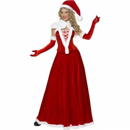 Miss Santa verkleedkleding dames