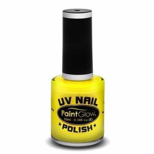 Neon gele nagellak blacklight