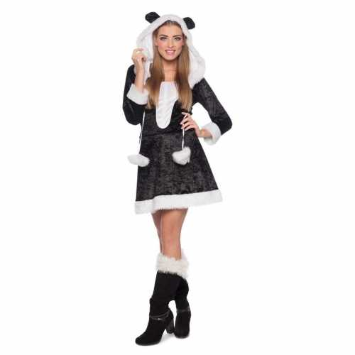 Panda dieren verkleedkleding dames
