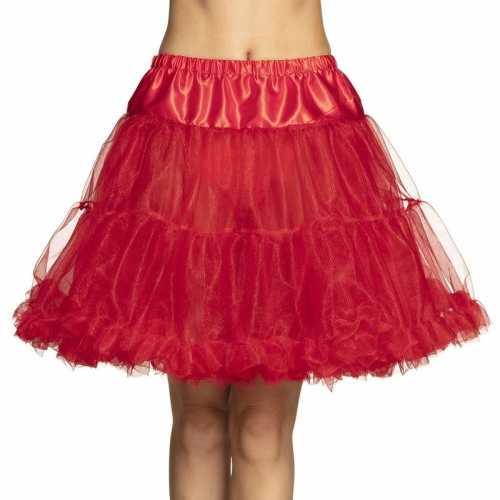 Rode rock 'n roll petticoat dames