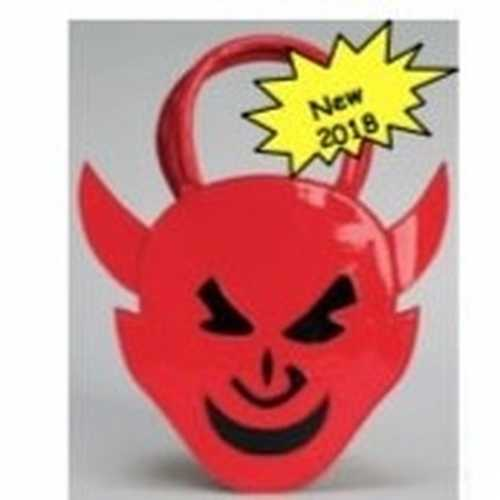 Rond handtasje rood duivel
