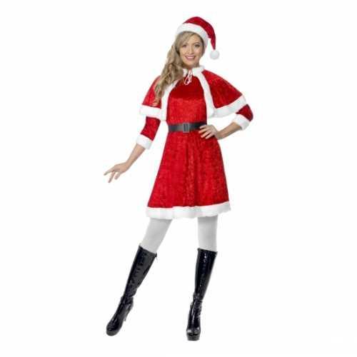 Rood kerstjurkje cape