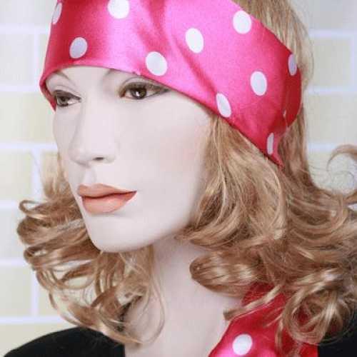 Roze hals sjaal dames
