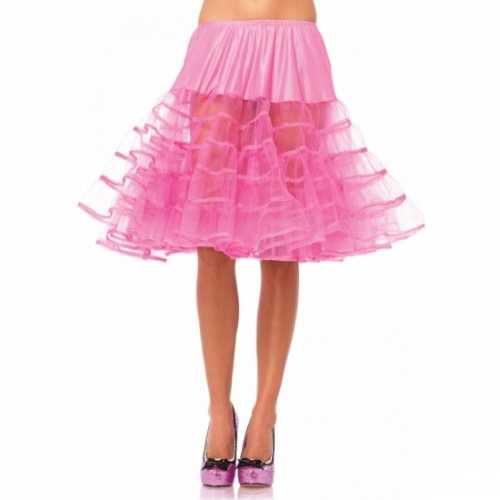 Roze onderrok petticoat luxe