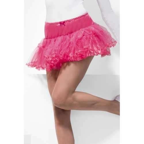 Roze rock and roll petticoat