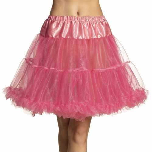 Roze rock 'n roll petticoat dames