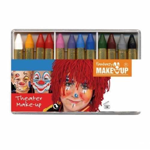 Schmink 12 kleuren stiften
