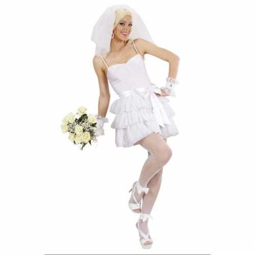 Sexy bruidsjurk verkleedkleding
