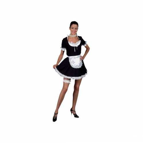 Sexy dienstmeisje verkleedkleding dames