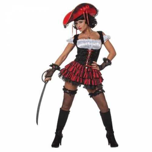 Sexy piraten verkleedkleding dames