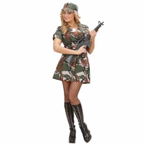 Soldaten verkleedkleding jurkje