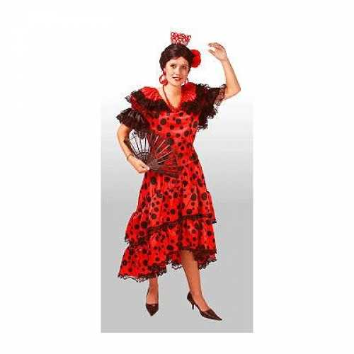 Spaanse salsa jurkjes dames