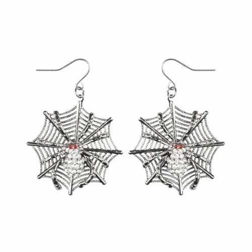 Spinnen heksen oorbellen dames