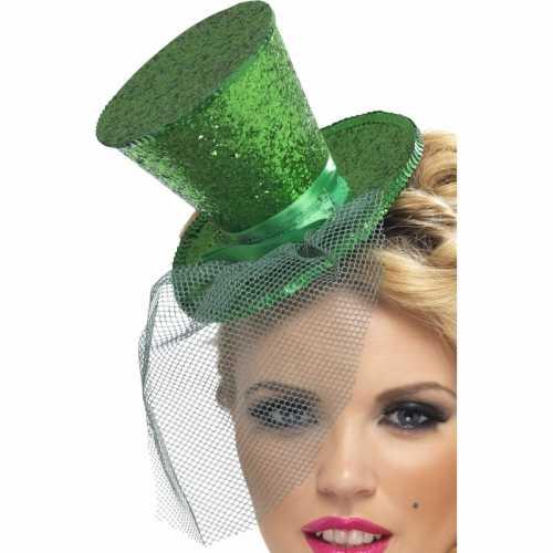 St patrick's day glitter hoedje
