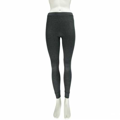 Strakke thermo legging antraciet grijs dames