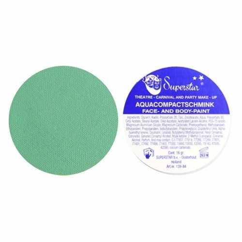 Superstar aqua schmink groen