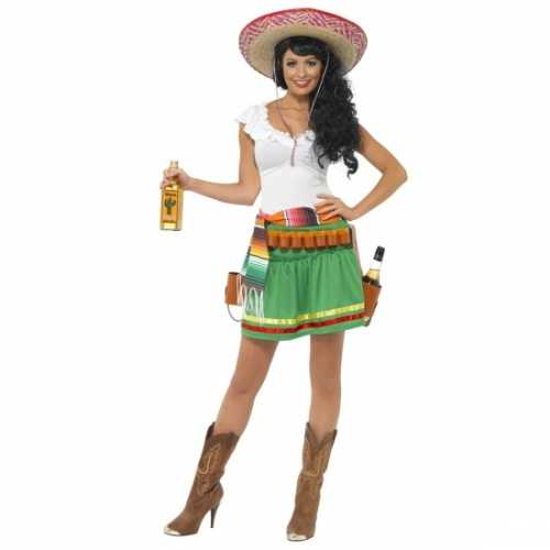 Tequila verkleedkleding dames