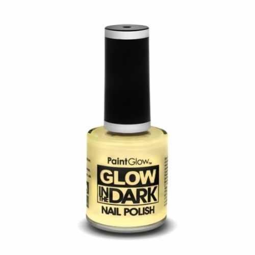 Transparante nagellak lichtgevend