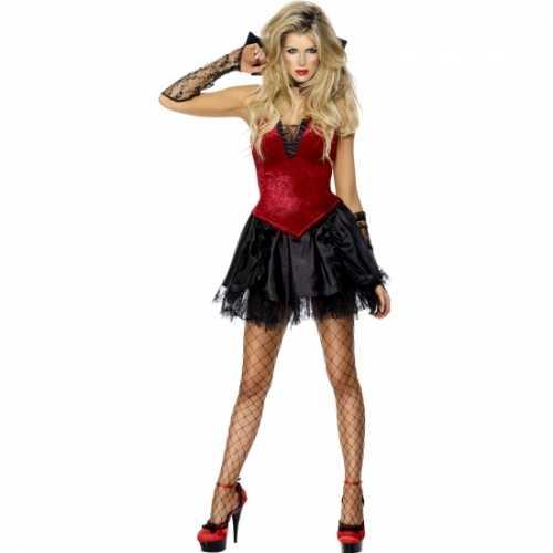 Vampier verkleedverkleedkleding dames
