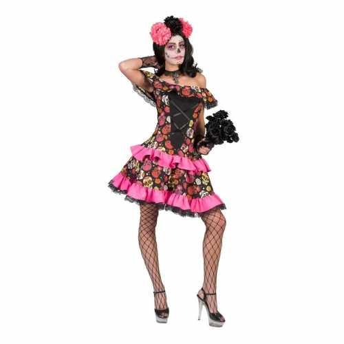 Verkleed jurk schedels dames