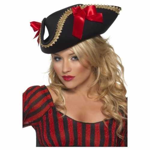 Verkleedaccessoires piraten hoed volwassenen