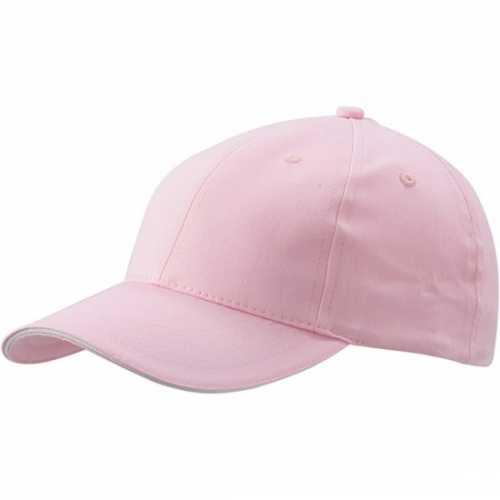 Voordelige lichtroze baseball cap