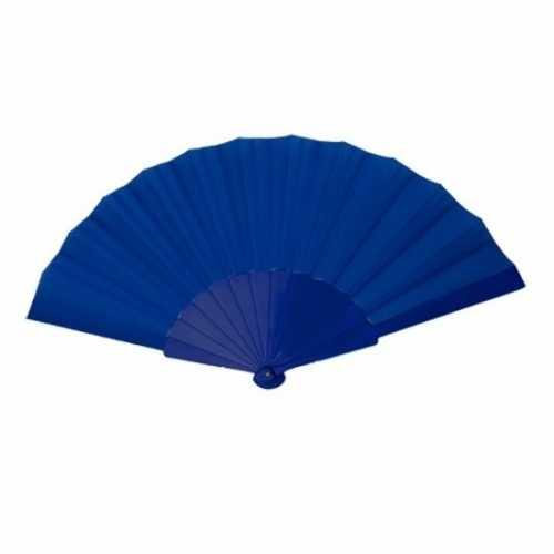 Voordelige waaier donker blauw 23