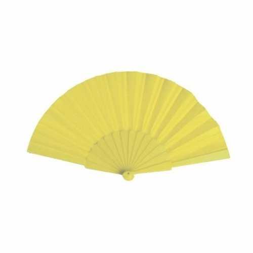 Voordelige waaier geel 23
