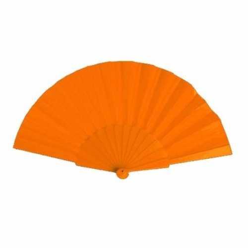Voordelige waaier oranje 23