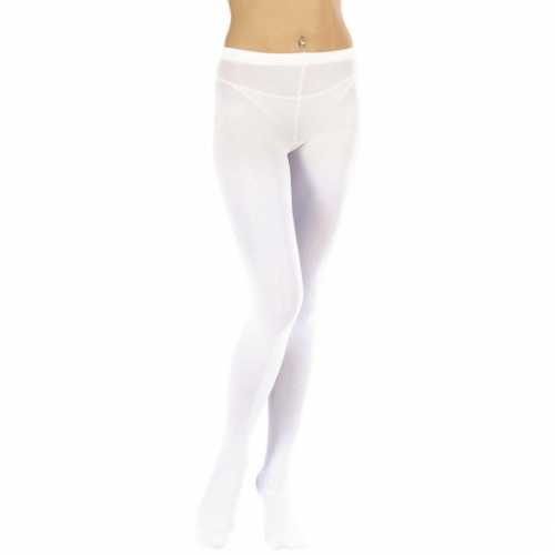 Witte dames panty maillots
