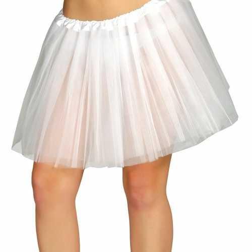 Witte verkleed petticoat dames 40