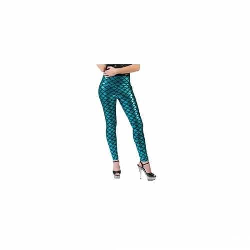 Zeemeermin legging blauw