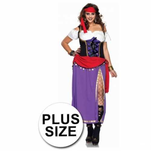 Zigeuner verkleedkleding grote maten