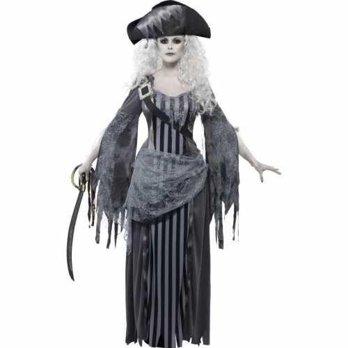 Zombie piraat verkleedkleding dames