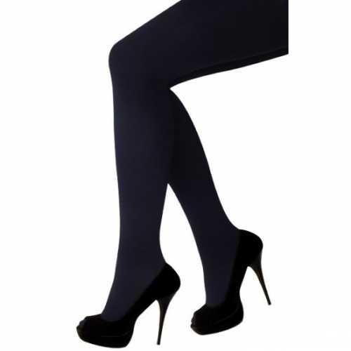 Zwarte maillot dames gulp