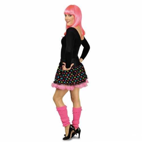 Zwarte petticoat roze voering
