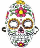 Feest party mexicaans doodshoofd masker dag van de doden day of the dead dames