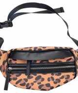 Hip heuptasje fanny pack schoudertasje zwart bruin luipaardprint panterprint dierenprint 30