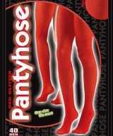 Panty glitters rood 40 denier