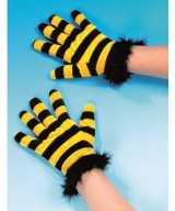Party handschoenen bijen