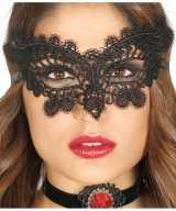 Zwart oogmasker dames